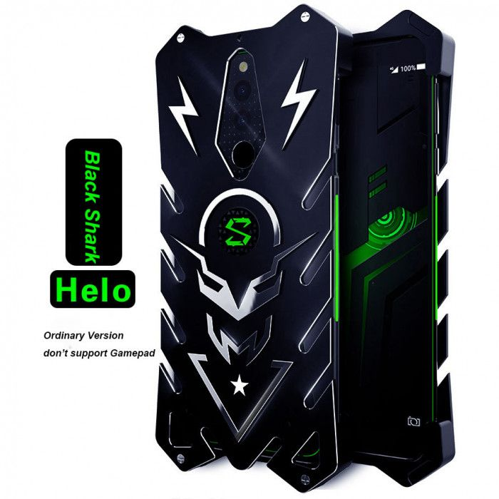 SIMON New Style Cool Aluminum Alloy Metal Frame Bumper Cover Case For Xiaomi Black Shark Helo Gaming Phone