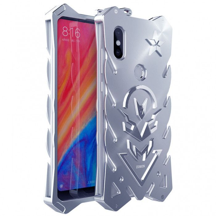 SIMON New Style Cool Aluminum Alloy Metal Frame Bumper Cover Case For Xiaomi Mix 2S