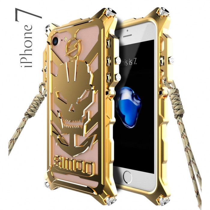 Simon Robot Arm Style Aluminum Alloy Metal Case Cover For iPhone 7/8
