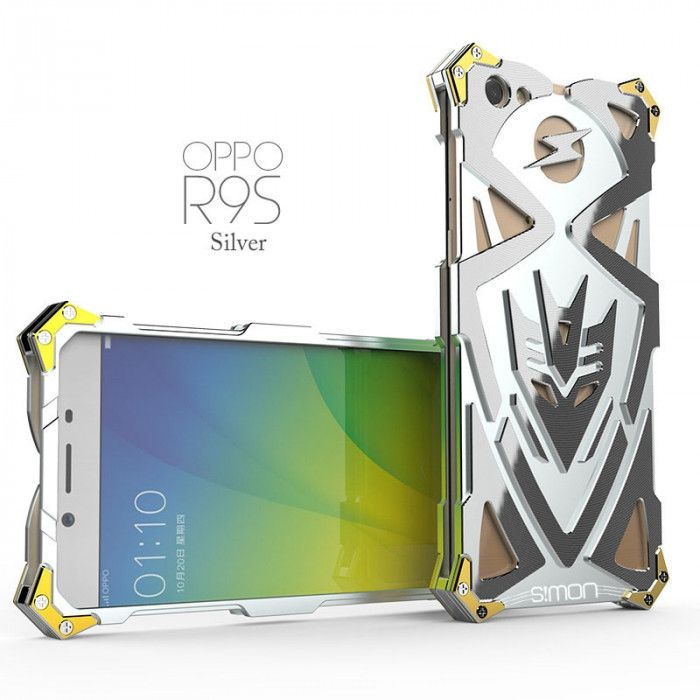 SIMON THOR 2 Aluminum Alloy Metal Frame Bumper Cover Case For OPPO R9S