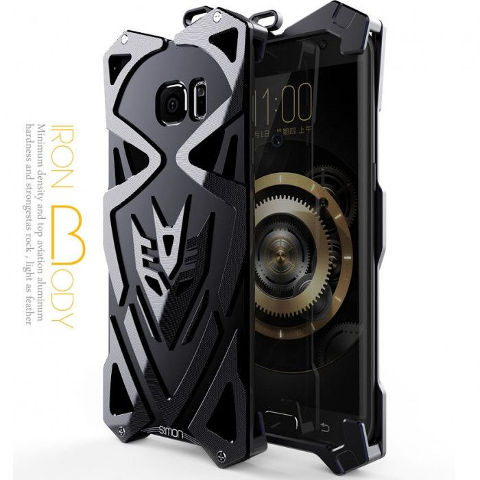 SIMON THOR 2 Aluminum Alloy Metal Frame Bumper Cover Case For Samsung S7/S7 Edge