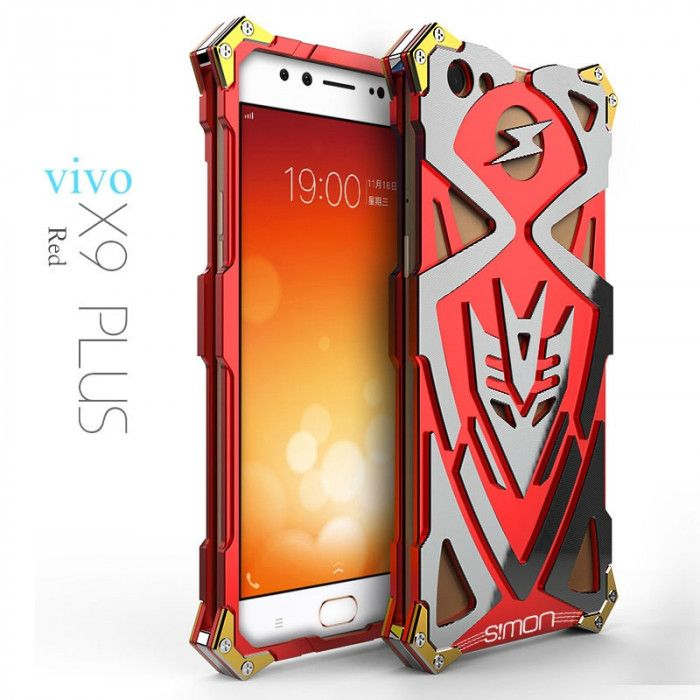 SIMON THOR 2 Aluminum Alloy Metal Frame Bumper Cover Case For VIVO X9 Plus