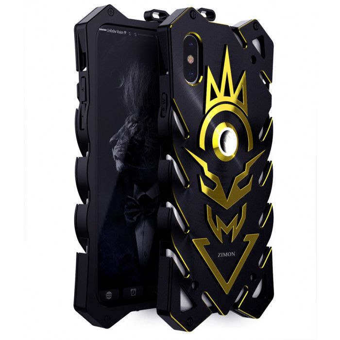 SIMON THOR 2 Upgraded Version Aluminum Alloy Metal Frame Bumper Cover Case For iPhone X