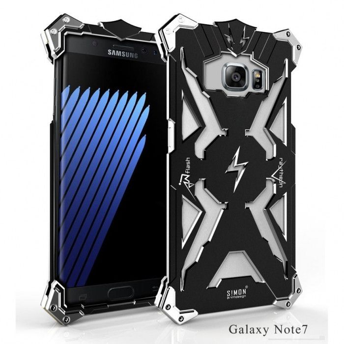 SIMON THOR Aluminum Alloy Metal Frame Bumper Cover Case For Samsung Galaxy Note 7