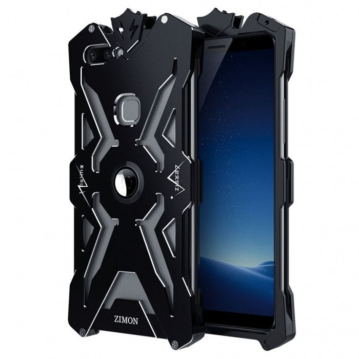 SIMON THOR Aluminum Alloy Metal Frame Bumper Cover Case For VIVO X20/X20 Plus