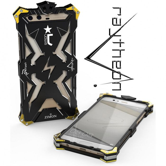 SIMON THOR Aviation Aluminum Alloy Shockproof Metal Case Cover For Huawei Honor 9