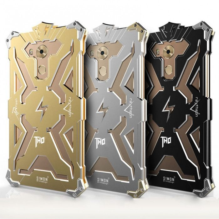 SIMON THOR Aviation Aluminum Alloy Shockproof Metal Case Cover For Huawei Mate 8