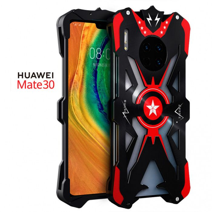 SIMON Upgraded Version Aluminum Alloy Metal Frame Bumper Cover Case For HUAWEI Mate 30 Pro/Mate 30