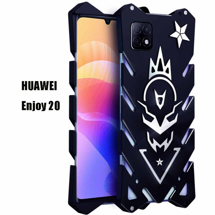 SIMON Aluminum Alloy Metal Frame Bumper Cover Case For HUAWEI Enjoy 20