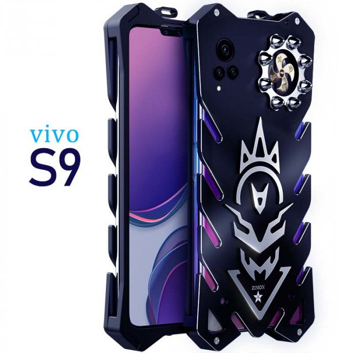 SIMON New Cool Aluminum Alloy Metal Frame Bumper Cover Case For VIVO S9