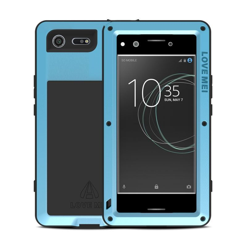 release date bcb8e fbe34 Love Mei Snow Proof & Shock Proof Aluminum Alloy Metal Powerful Protective  Case For SONY Xperia XZ Premium