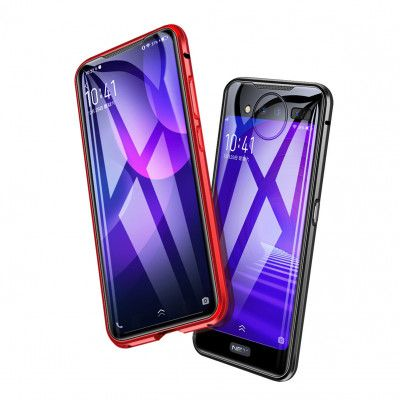 Double Sided High Definition Toughened Glass Metal Frame For VIVO NEX 2