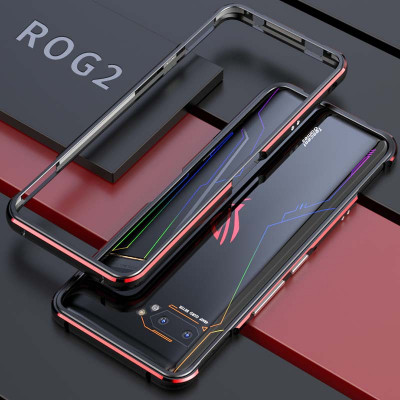 Double Color Metal Bumper Protective Case For ASUS ROG Phone 2