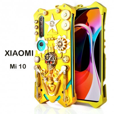 Gothic Steampunk Mechanical Gear Metal Case For XIAOMI Mi 10 Pro/Mi 10
