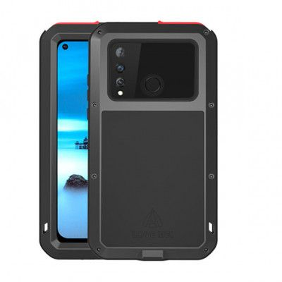 Love Mei Dustproof & Shockproof Aluminum Alloy Metal Powerful Protective Case For Huawei Nova 4