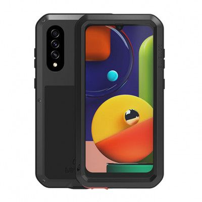 LoveMei Dust Proof Shock Proof Metal Powerful Protective Case For Samsung GALAXY A50s