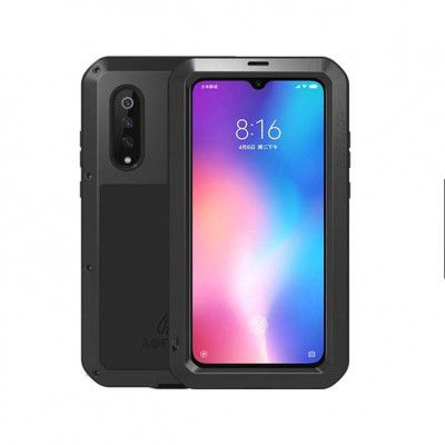 LoveMei Dust Proof Shock Proof Metal Powerful Protective Case For XIAOMI MI 9