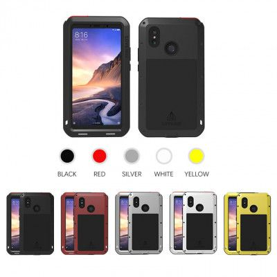 Love Mei Dustproof & Shockproof Metal Powerful Protective Case For Xiaomi Mi Max 3