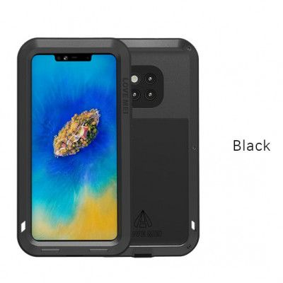 Love Mei Life Proof & Shock Proof Aluminum Alloy Metal Powerful Protective Case For Huawei Mate 20 Pro