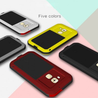 Love Mei Snow Proof & Shock Proof Aluminum Alloy Metal Powerful Protective Case For Huawei MAIMANG 5
