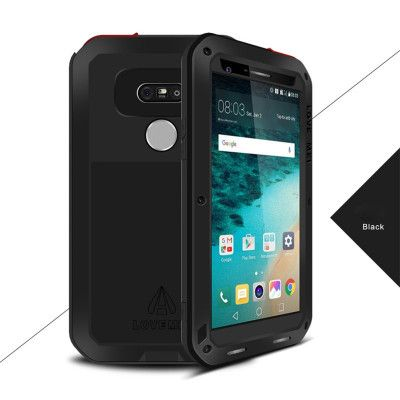 Love Mei Snow Proof & Shock Proof Aluminum Alloy Metal Powerful Protective Case For LG G5