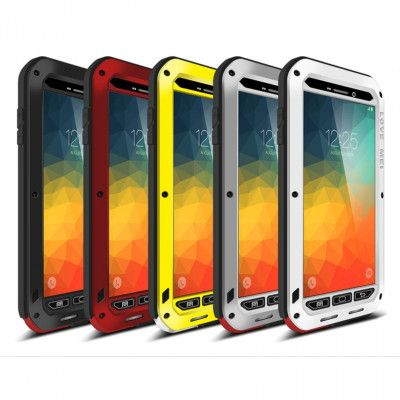 Love Mei Snow Proof & Shock Proof Aluminum Alloy Metal Powerful Protective Case For Samsung GALAXY NOTE5
