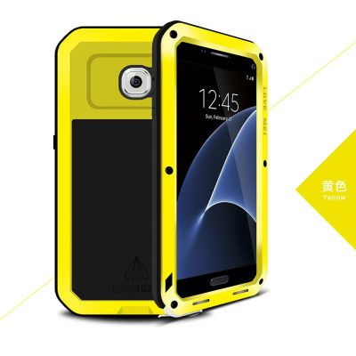 Love Mei Snow Proof & Shock Proof Aluminum Alloy Metal Powerful Protective Case For Samsung GALAXY S7