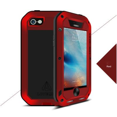 Love Mei Snow Proof & Shock Proof Powerful Protective Case For iPhone SE