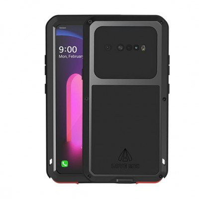Love Mei Dustproof & Shockproof Metal Powerful Protective Case For LG V60