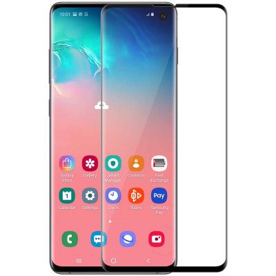 Nillkin 3D CP+MAX Full Covering Tempered Glass Screen Protector Film For Samsung Galaxy S10