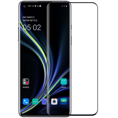 Nillkin 3D DS+MAX Full Glue Curved Tempered Glass Screen Protector For OnePlus 8