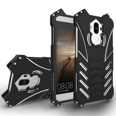 R-Just Shockproof Aluminum Alloy Metal Protective Case For Huawei Mate 9
