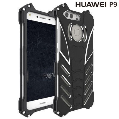 R-Just Shockproof Aluminum Alloy Metal Protective Case For Huawei P9/P9 Plus