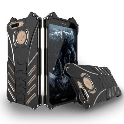 R-Just High Quality Shockproof Aluminum Alloy Metal Protective Case For Huawei Honor V9