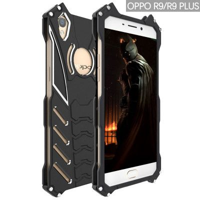 R-Just Shockproof Aluminum Alloy Metal Protective Case For OPPO R9/R9 Plus