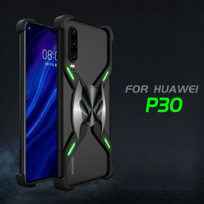 R-Just Magnetic Adsorption Shockproof Aluminum Alloy Metal Case For HUAWEI P30 Pro/P30