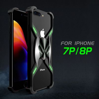 R-Just Magnetic Adsorption Shockproof Aluminum Alloy Metal Case For iPhone XS Max/XR/XS/X/7P/8P/7/8