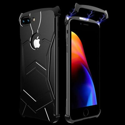 R-Just New Magnetic Panther Metal Cover Case For iPhone 7/8/iPhone 7 Plus/iPhone 8 Plus