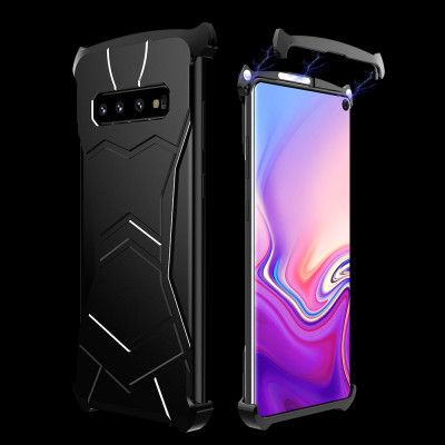 R-Just New Magnetic Panther Metal Cover Case For Samsung S10 Plus/S10e/S10
