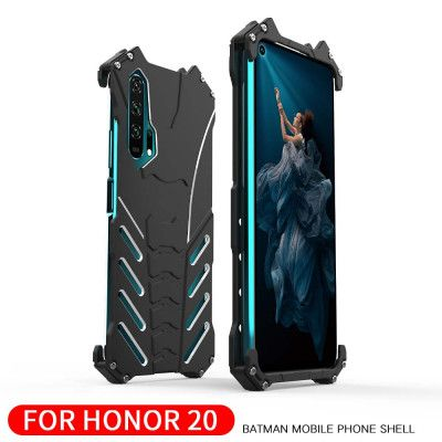 R-Just Shockproof Aluminum Alloy Metal Protective Case For Huawei Honor 20 Pro/Honor 20