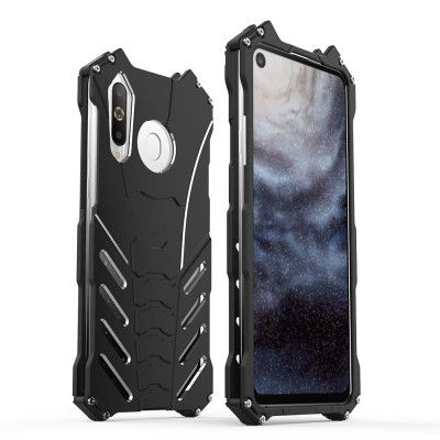 R-Just Shockproof Aluminum Alloy Metal Protective Case For Samsung A8S