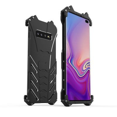 R-Just Shockproof Aluminum Alloy Metal Protective Case For Samsung Galaxy S10 Plus / S10 Lite / S10