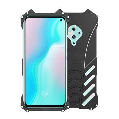 R-Just Shockproof Aluminum Alloy Metal Protective Case For VIVO S5