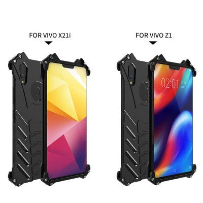 R-Just Shockproof Aluminum Alloy Metal Protective Case For VIVO X21i / Z1