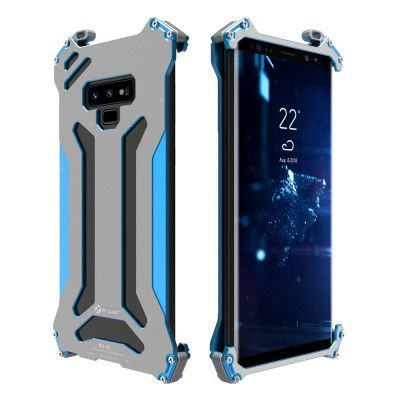 R-Just Ultra Thin Cool Aluminum Alloy Shock Proof Metal Shell With Hook Design For Samsung Note 9