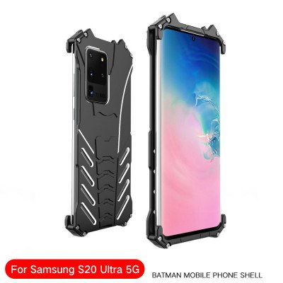 R-Just Shockproof Aluminum Alloy Metal Protective Case For Samsung Galaxy S20 Plus/S20 Ultra 5G