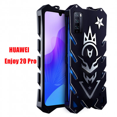 SIMON Aluminum Alloy Metal Frame Bumper Cover Case For HUAWEI Enjoy 20 Pro/Enjoy Z