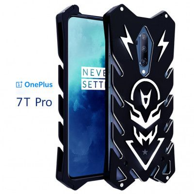 SIMON Aluminum Alloy Metal Frame Bumper Cover Case For OnePlus 7T Pro