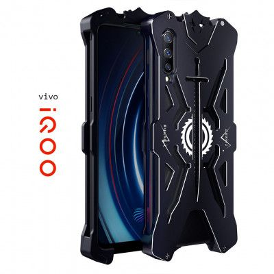 SIMON Aviation Aluminum Alloy Shockproof Metal Case Cover For VIVO iQOO
