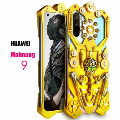 Simon Gothic Steampunk Mechanical Gear Metal Case For HUAWEI Maimang 9